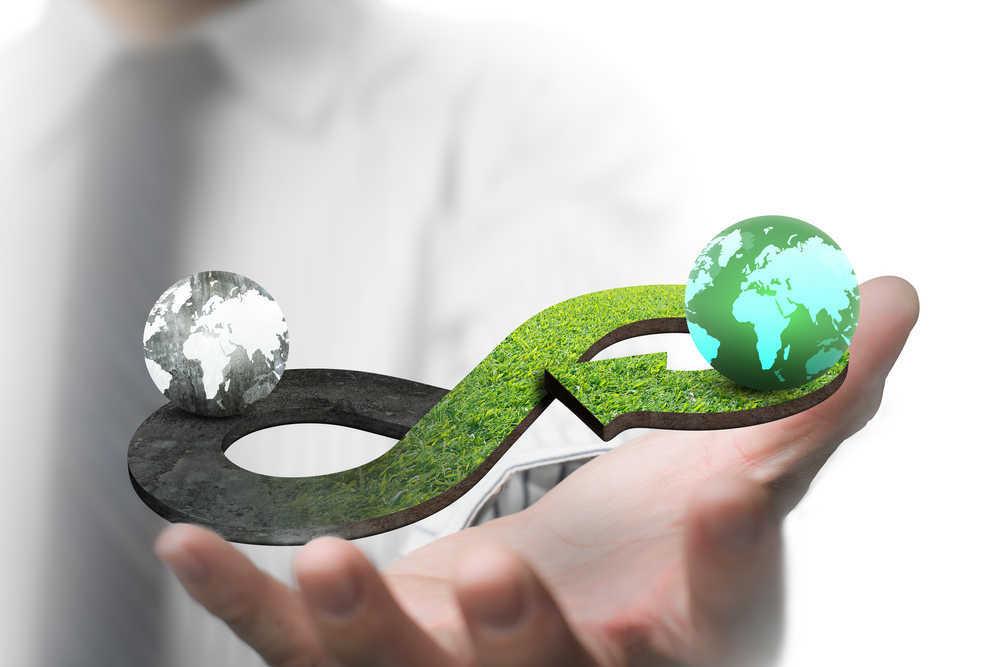 Recicla, reutiliza e invierte en economía circular